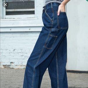 Brandy Dark Wash Carpenter Jeans